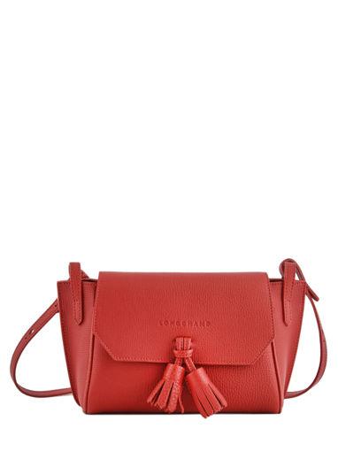 Longchamp Pénélope Sac porté travers Rouge
