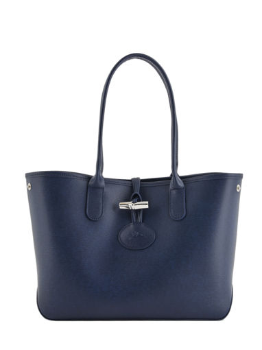 Longchamp Roseau Besace Bleu