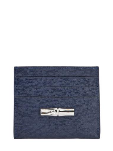 Longchamp Roseau Porte billets/cartes Noir