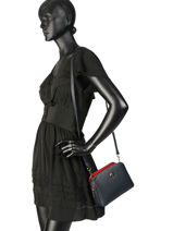 Sac Bandoulière Th Core Tommy hilfiger Bleu th core AW06118-vue-porte