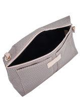 Longchamp Le pliage dandy Pochette Beige-vue-porte