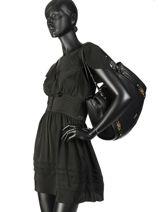 Sac Shopping It Bag Liu jo Noir adv A19202-vue-porte
