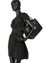 Sac Shopping Aniene Liu jo Noir aniene A19058-vue-porte