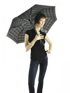 Parapluie Isotoner Noir homme 9299-vue-porte