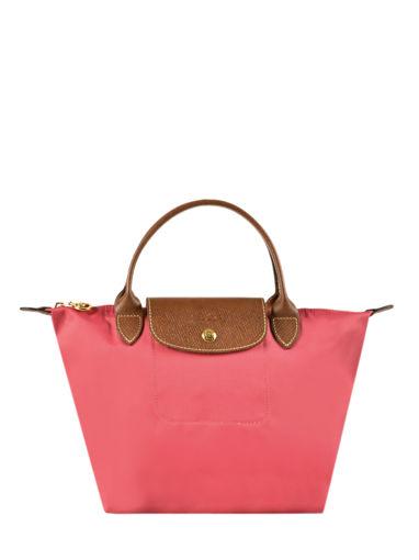 Longchamp Sac porté main Rose