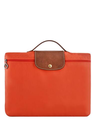 Longchamp Aktetas Oranje