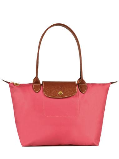 Longchamp Schoudertas Roze