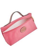 Longchamp Pochette Rose-vue-porte