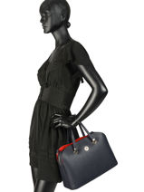 Sac Porté Main Th Core Tommy hilfiger Bleu th core AW06124-vue-porte