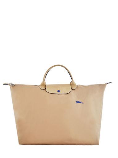 Longchamp Le pliage club Sac de voyage Beige