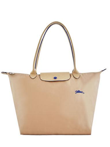 Longchamp Le pliage club Besace Beige