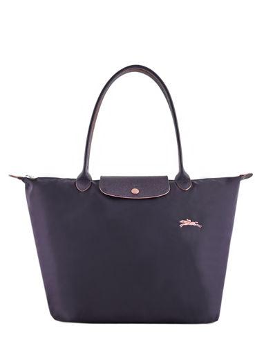 Longchamp Le pliage club Schoudertas Violet