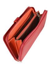 Tout-en-un Cuir Hexagona Rouge multico 227436-vue-porte