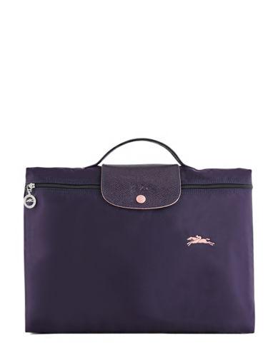 Longchamp Le pliage club Aktetas Violet