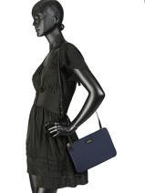 Sac Bandoulière En Nylon Chadwick Lauren ralph lauren Bleu chadwick 31718195-vue-porte