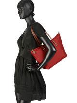 Sac Shopping En Nylon M Chadwick Lauren ralph lauren Rouge chadwick 31700399-vue-porte