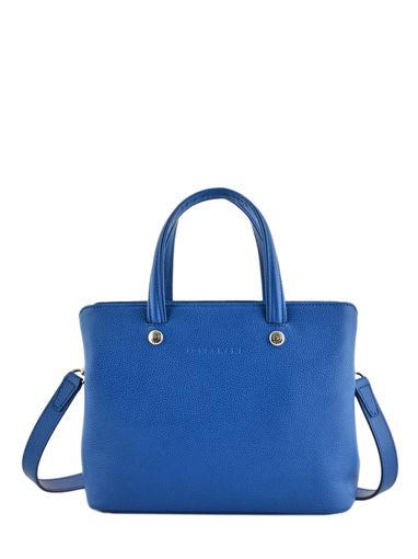 Longchamp Le foulonné Sac porté main Bleu