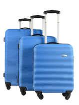 Lot De Valises Madrid Travel Bleu madrid 1701-LOT
