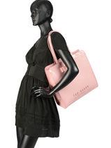 Shoppingtas Icon Bag Ted baker Zwart icon bag ALMACON-vue-porte