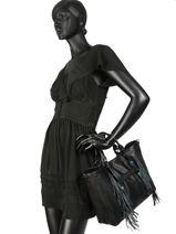 Longchamp Longchamp 3d pierre Sac porté main Noir-vue-porte