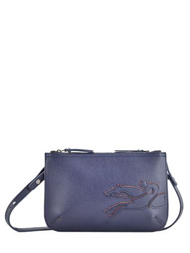 Longchamp Shop-it Cross body tas Blauw