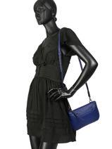 Longchamp Longchamp 3d Cross body tas Blauw-vue-porte