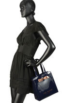 Sac Porté Main Icon Bag Ted baker Noir icon bag ARYCON-vue-porte