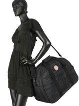 Sac De Voyage Luggage Roxy Noir luggage RJBL3156-vue-porte