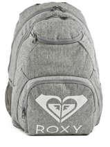 Sac à Dos 2 Compartiments Roxy Gris backpack RJBP3889