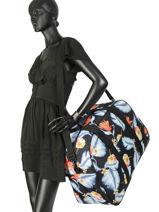 Sac De Voyage Luggage Roxy Noir luggage RJBL3157-vue-porte
