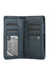 Portefeuille Cuir Etrier Bleu galop EGAL906-vue-porte