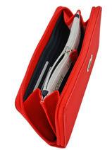 Portefeuille Lacoste Noir l.12.12 concept NF2900PO-vue-porte