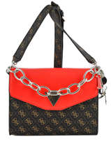Sac Bandoulière Maddy Guess Marron maddy SG729121