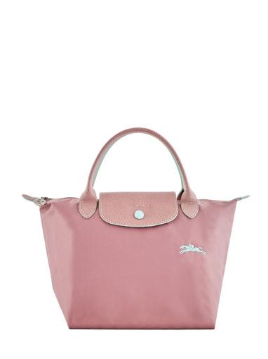 Longchamp Le pliage club Sac porté main Rose