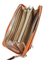 Portefeuille Guess Orange marlene VG717746-vue-porte