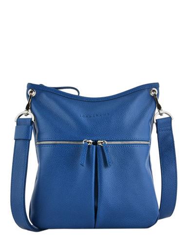 Longchamp Cross body tas Blauw
