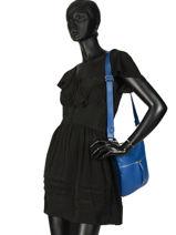 Longchamp Cross body tas Blauw-vue-porte