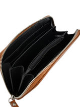 Portefeuille Caviar Cuir Milano Marron caviar CA18115-vue-porte