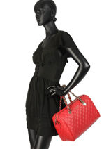 Sac Polochon Sweet Candy Guess Rouge sweet candy VG717507-vue-porte