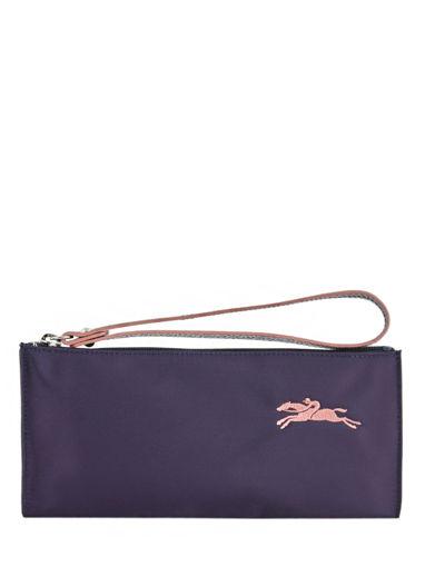 Longchamp Le pliage club Clutch Violet
