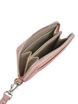 Porte-monnaie Lacoste Rose daily classic NF2778DC-vue-porte