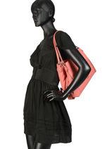 Sac Shopping Edie 31 Cuir Coach Multicolore edie 57125-vue-porte