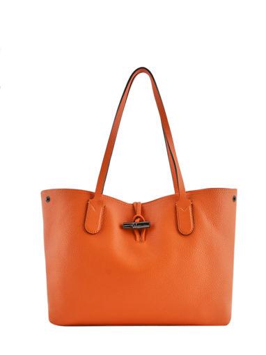 Longchamp Roseau essential Schoudertas Oranje