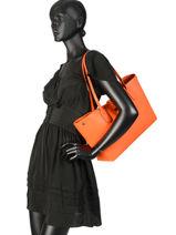 Longchamp Roseau essential Besace Orange-vue-porte