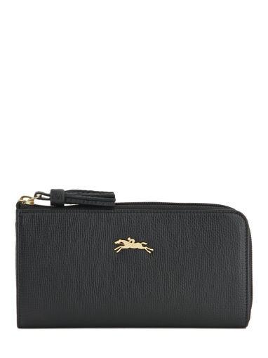 Longchamp Pénélope Portefeuille Noir