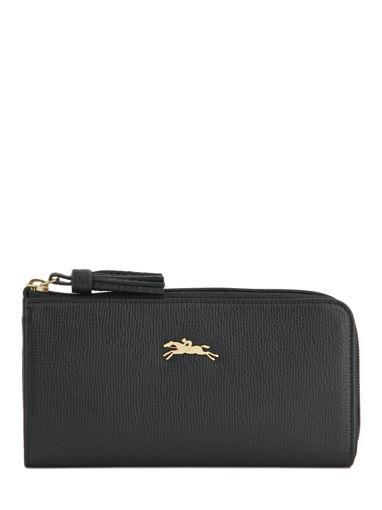 Longchamp Pénélope Portefeuille Zwart