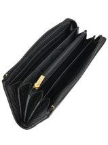 Longchamp Pénélope Portefeuille Noir-vue-porte