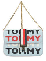 Sac Bandoulière Th Heritage Tote Tommy hilfiger Beige th heritage tote AW06874