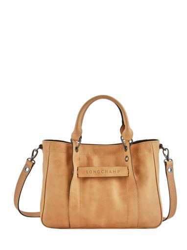 Longchamp Sac porté main Beige