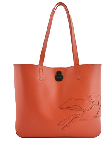 Longchamp Shop-it Schoudertas Oranje